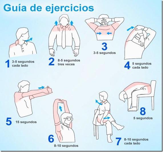 dolor cuello ejercicios